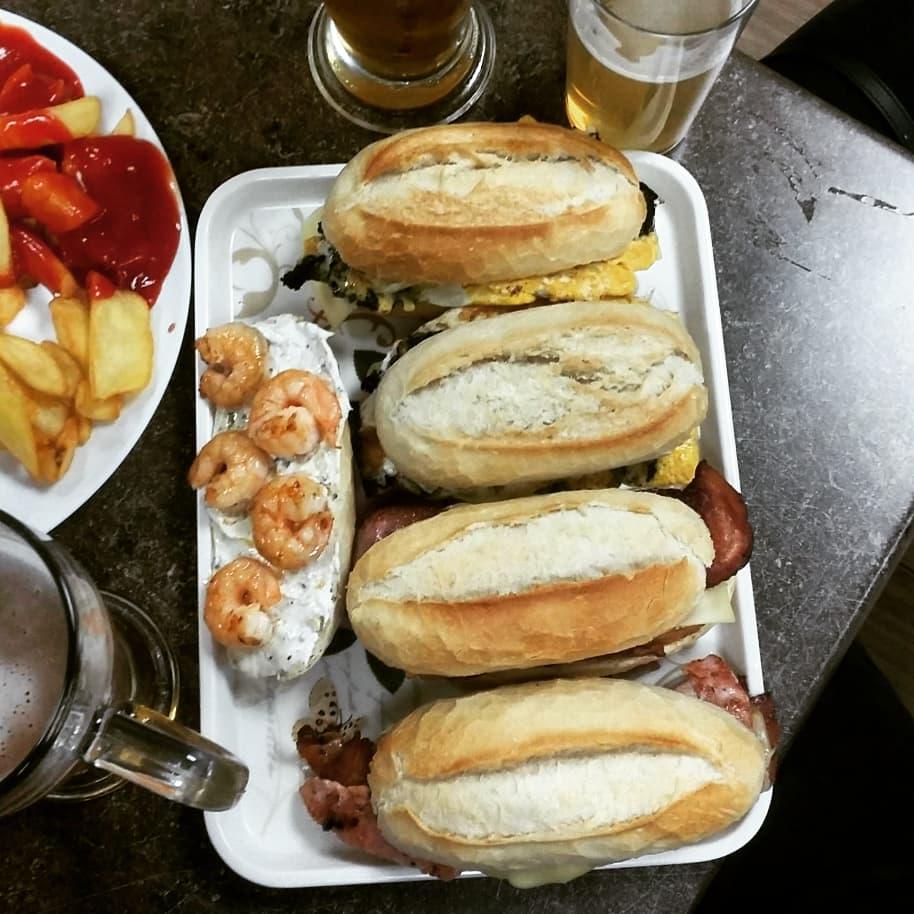 mario bar food