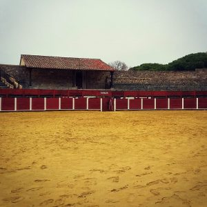 Bejar's old bull fighting ring