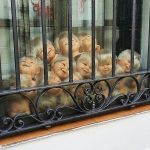 Cáceres Dolls heads
