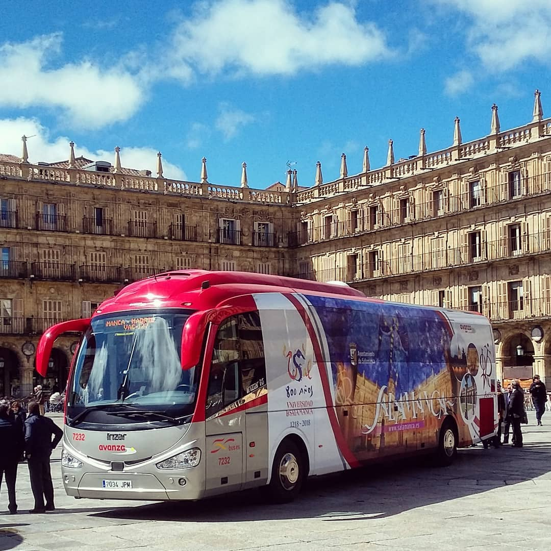 transport to salamanca